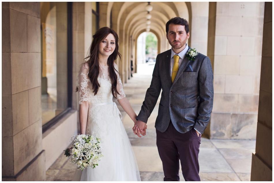 Manchester registry office wedding
