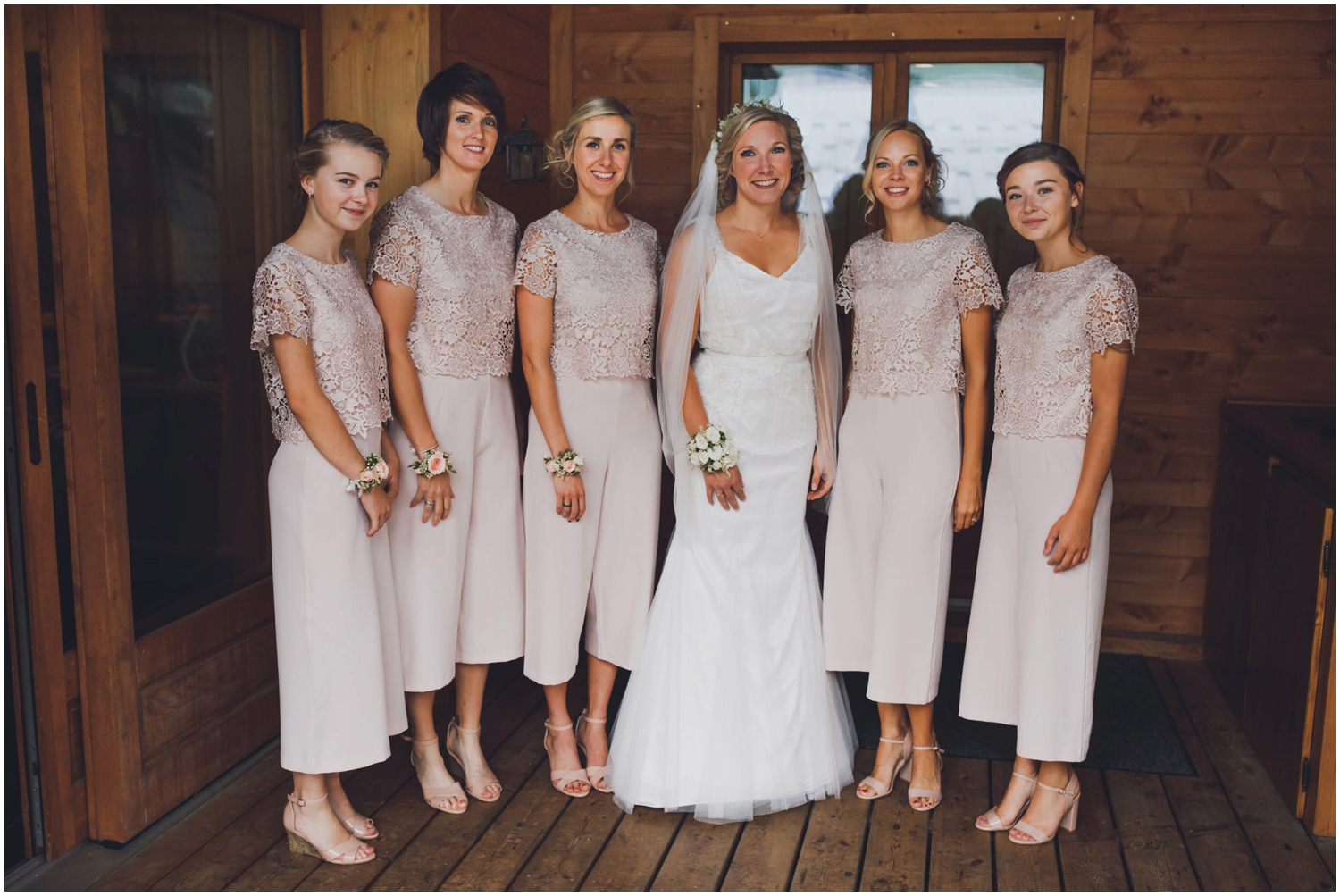 The Farmhouse Morzine wedding