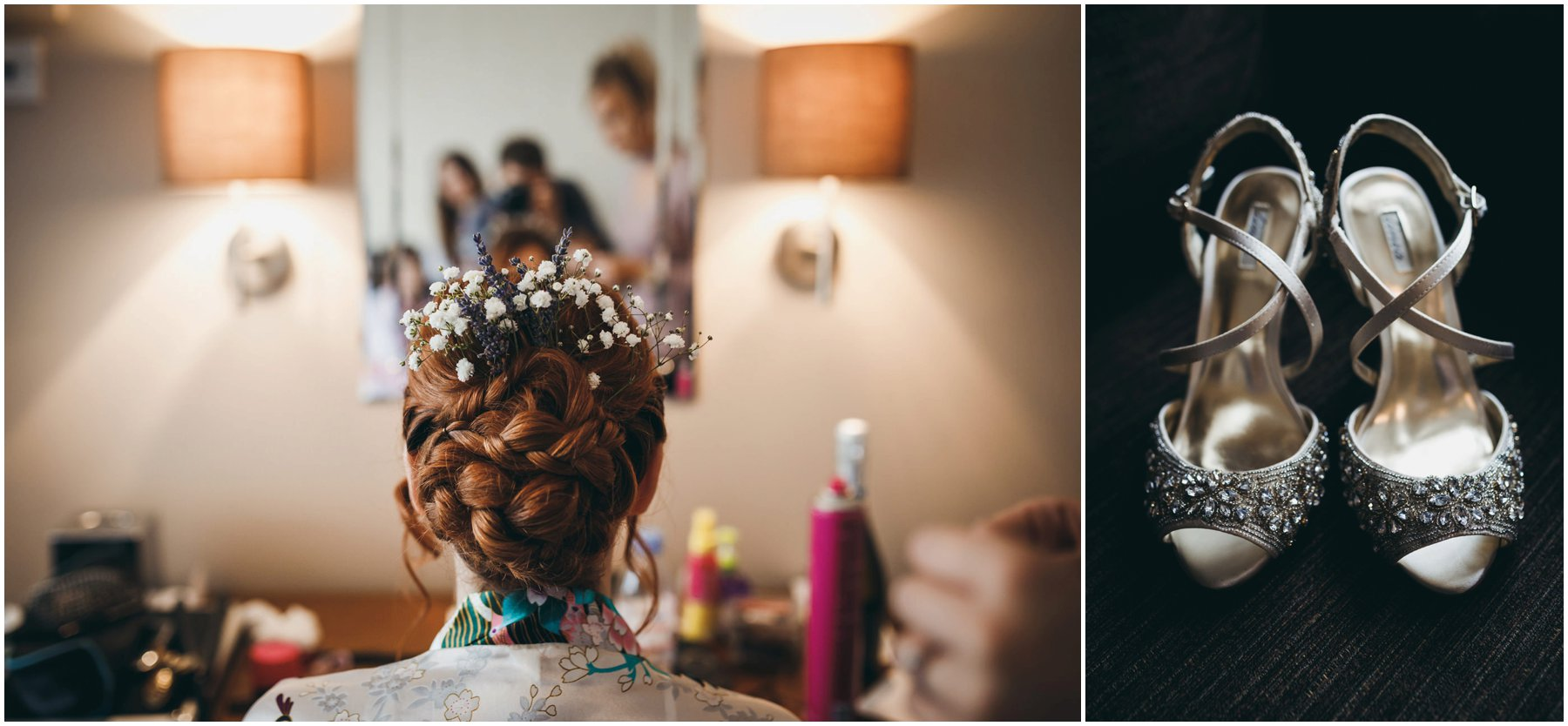 Harrogate Wedding Photographer wedding hair