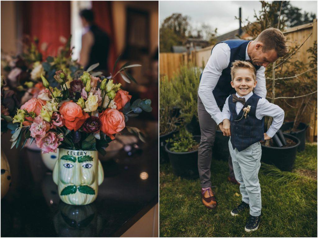 Cotswolds tipi wedding