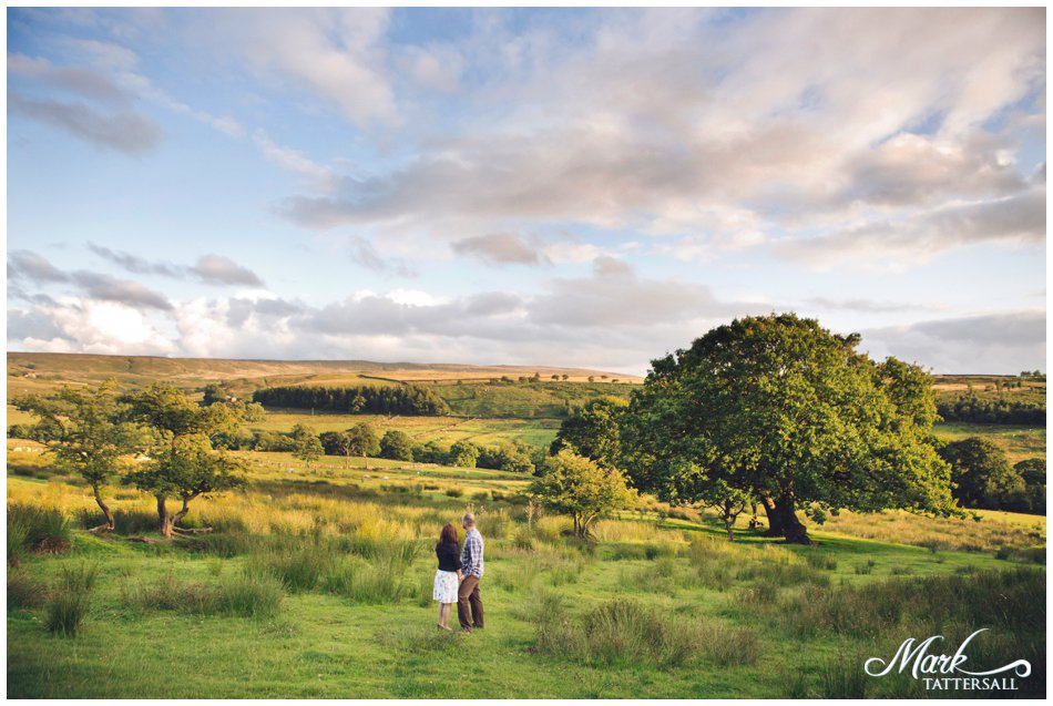wycoller country park pre wedding shoot