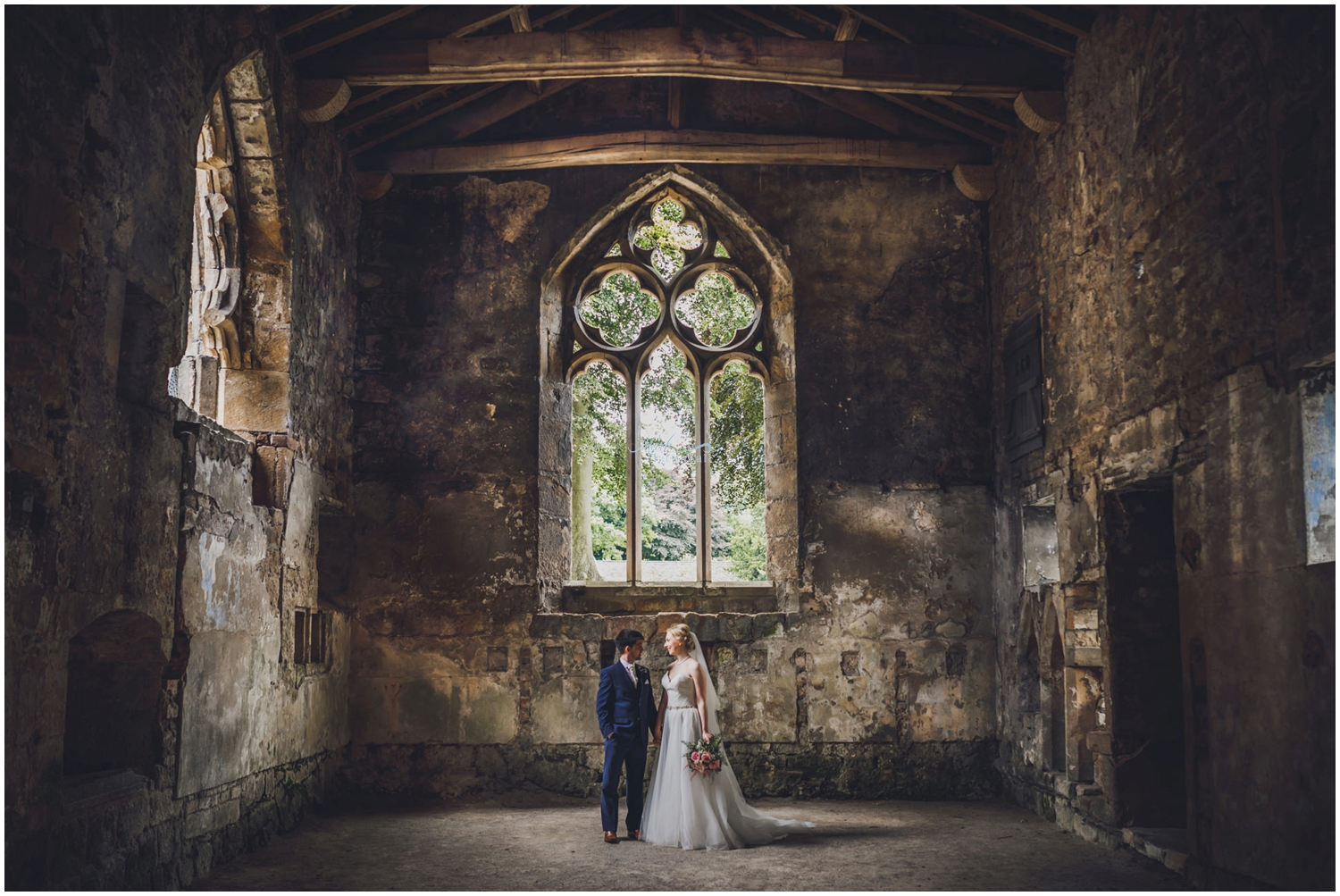 Skipton castle wedding photographer