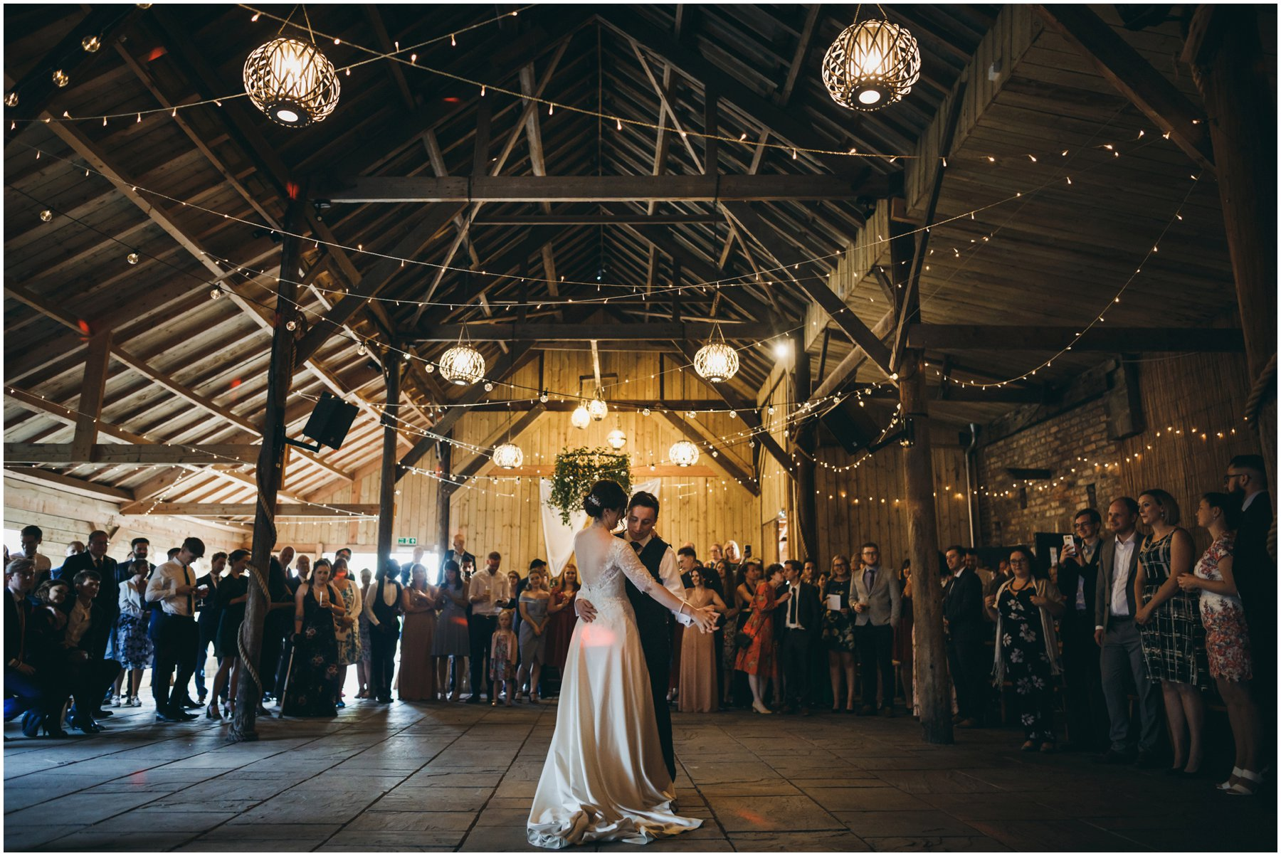 York Maze Wedding Photography barn dance